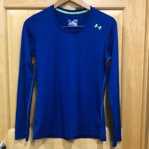Under Armour Fitted Heat Gear Long Sleeve